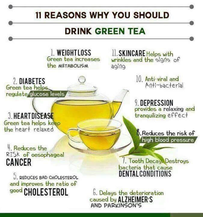 voordelen van groene thee